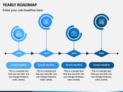 Yearly Roadmap PPT Slide 6