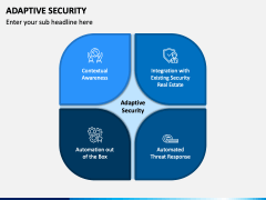Adaptive Security PPT Slide 1