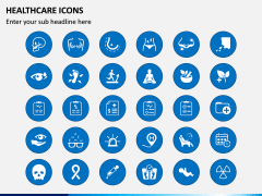 Healthcare Icons PPT Slide 3