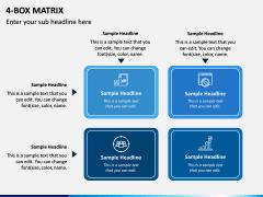 4 Box Matrix PPT Slide 5