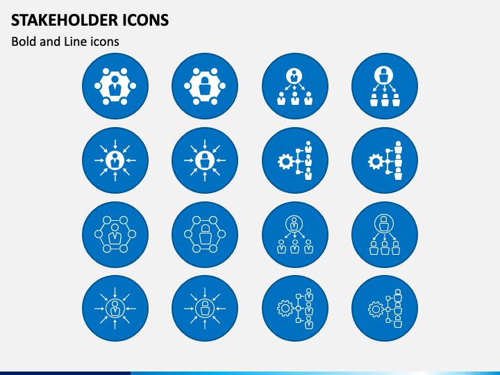 Stakeholder Icons PPT Slide 1