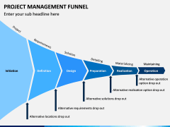 Project Management Funnel PPT Slide 1