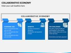 Collaborative Economy PPT Slide 1