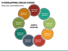9 Overlapping Circles Stages - Free PPT Slide 2