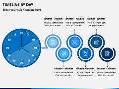 Timeline By Day PPT Slide 2
