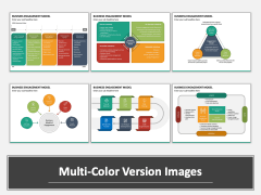 Business Engagement Model Multicolor Combined