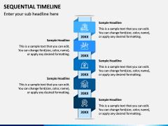 Sequential Timeline PPT Slide 4