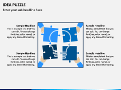Idea Puzzle PPT Slide 8