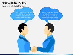 People Infographic PPT Slide 2