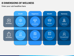 8 Dimensions of Wellness PPT Slide 2