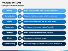 7 Wastes Of Lean PPT Slide 1