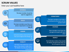 SCRUM Values PPT Slide 8