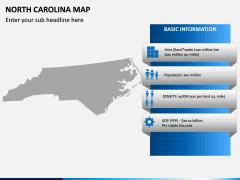 North Carolina Map PPT Slide 4