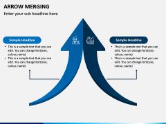 Arrow Merging PPT Slide 1