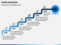 Stairs Roadmap PPT Slide 4
