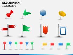 Wisconsin Map PPT Slide 9