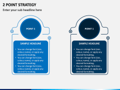 2 Point Strategy PPT Slide 1