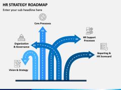 HR Strategy Roadmap PPT Slide 5