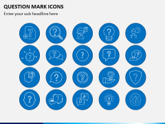 Question Icons PPT Slide 2