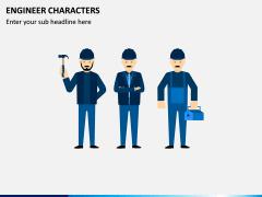 Engineer Characters PPT Slide 1
