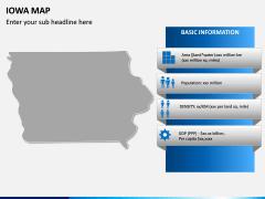 Iowa Map PPT Slide 4