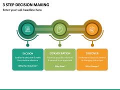 3 Step Decision Making PPT Slide 4
