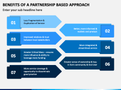 Benefits of A Partnership Based Approach PPT Slide 1