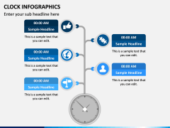 Clock Infographics PPT Slide 8