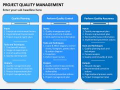 Project Quality Management PPT Slide 6