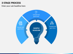 3 Stage Process PPT Slide 2