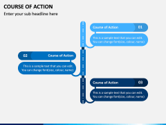 Course of Action PPT Slide 2