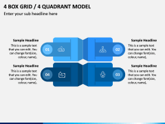 4 Box Grid PPT Slide 5