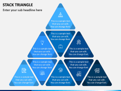 Stack Triangle PPT Slide 2
