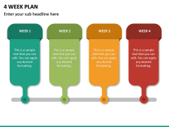 4 Week Plan PPT Slide 2