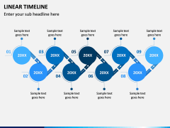 Linear Timeline PPT Slide 6
