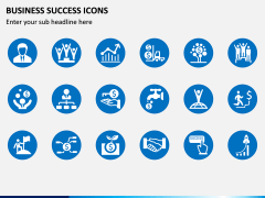 Business Success Icons PPT Slide 2