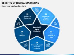 Benefits of Digital Marketing PPT Slide 1