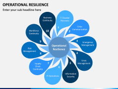 Operational Resilience PPT Slide 1