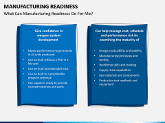 Manufacturing Readiness PPT Slide 7