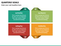 Quarterly Goals PPT Slide 6