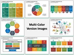 E-commerce Marketing Plan Multicolor Combined