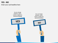 Yes or No PPT Slide 6