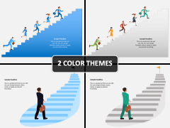 Climbing Stairs PPT Cover Slide