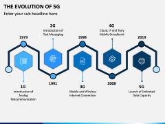 The Evolution of 5G PPT Slide 1