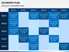 Six Month Plan PPT Slide 7