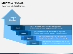 Step Wise Process PPT Slide 3