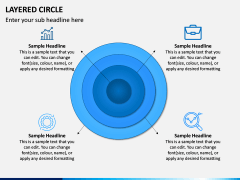 Layered Circle PPT Slide 11