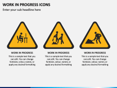 Work in Progress (WIP) Icons PPT Slide 2