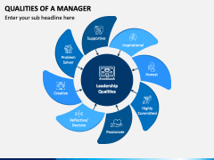 Qualities of Manager PPT Slide