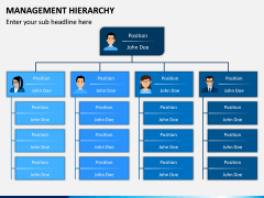 Management Hierarchy PPT Slide 8